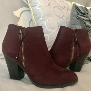 Charlotte Russe Booties - only worn once